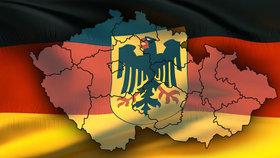 Němci si možná vezmou kus ČR: Území na hranicích je naše, tvrdí expert.