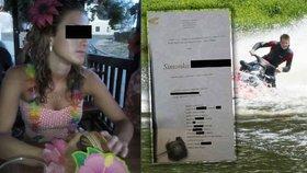Maminka zesnulé Simonky, kterou zabil vodní skútr, na Facebooku prosí veřejnost o pomoc při hledání viníka nehody, která jí vzala dceru.