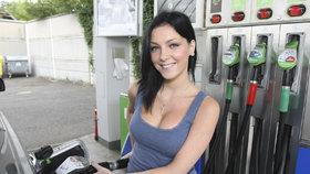 Ceny paliva v Česku nadále klesají, nejlevněji nyní natankujeme v Ústeckém kraji