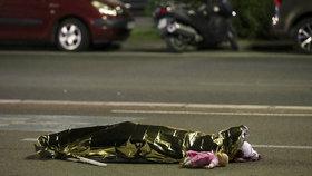 Jedna z dětských obětí útoku v Nice