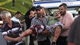 Pokus o státní převrat v Turecku stál život desítky lidí!