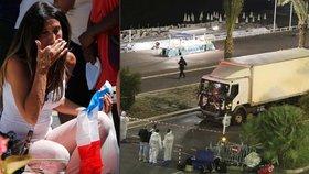 Po čtvrtečním atentátu v Nice jsou lidé stále v šoku.