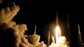 Start lodě Dragon společnosti SpaceX