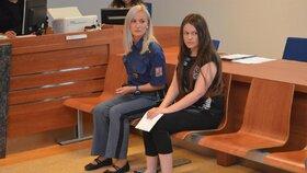 Barbora Orlová v soudní síni 19.7. 2016
