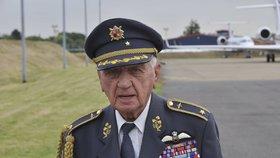 Generál Emil Boček v Londýně