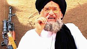 Šéf Al-Káidy Zavahrí vyzývá ke svaté válce