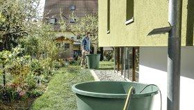 Dešťovka bude do budoucna důležitým zdrojem domácích zásob vody.