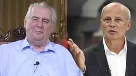 Miloš Zeman v pořadu S prezidentem v Lánech: Michala Horáčka jsem opravdu neznal.