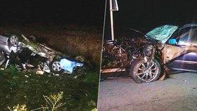 Při nehodě u Horažďovic zahynuli rodiče tříleté holčičky. Dítě skončilo s vážným zraněním v nemocnici.