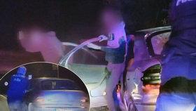 Trnavským policistům ujíždělo auto plné teenagerek.