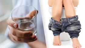 Pít, nebo splachovat. To je otázka? Pitná voda je drahá.