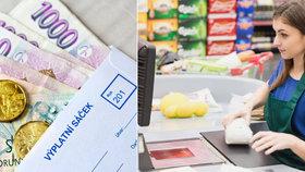 Supermarkety zvyšují platy. Ne všem je to ale dost