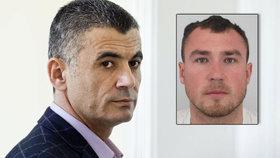 """Fajád (vlevo) nešel do rukou americké policie """"díky"""" výměně za unesené Čechy. Jedním z nich byl i Martin Psík (vpravo)."""