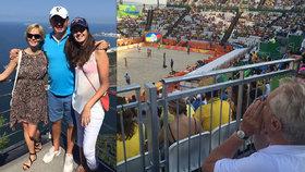 Zeman šel na beach, Kiska s dcerou na vyhlídku. Velká galerie politiků z Ria