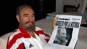 Fidel Castro na podzim 2006