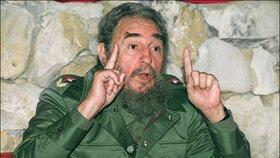 Fidel Castro na jaře 1990 v Havaně