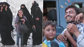 Z držení Islámského státu bylo osvobozeno 2000 zajatců! Byli mezi nimi i děti.