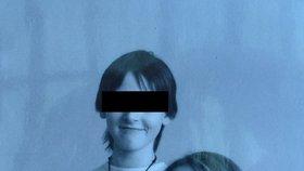 Markéta S. s bratrem Janem S., když jí bylo 17 a bratrovi 15 let.