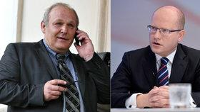 Premiér Bohuslav Sobotka není z Humlovy aktivity na Facebooku nadšený.