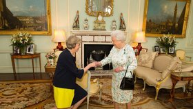 Britská královna Alžběta II. pověřila funkcí ministerské předsedkyně Theresu Mayovou.