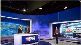 Zprávy na TV Nova.