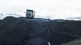 Těžba uhlí na Špicberkách stále běží, už jen ale pro potřeby místní elektrárny.