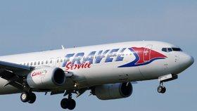 Letoun společnosti Travel Service