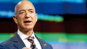 Zakladatel internetového obchodu Amazon letos překonal Billa Gatese v roli nejbohatšího muže světa.