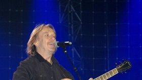 Jaromír Nohavica při koncertu