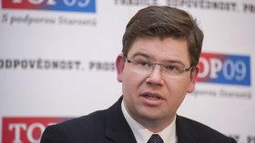 Europoslanec a exministr spravedlnosti Jiří Pospíšil (za TOP 09)