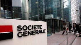 Centrála banky Société Générale v Paříži