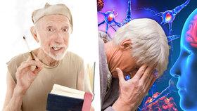 Alzheimer vede ke kreativitě i přes degeneraci mozku.