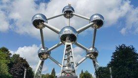 Atomium v Bruselu