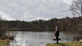 Ministr životního prostředí Richard Brabec v Ralsku