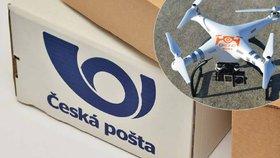 Česká pošta by chtěla balíkoptéru.