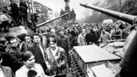 Okupace sovětskými tanky a vojsky Varšavské smlouvy v srpnu 1968