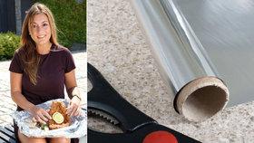 Alobal? Jídlo do něj nebal! Vědci upozorňují na rizika hliníkové fólie.