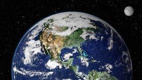 Obrázky, jako jsou tyto, na kterých je Země kulatá, jsou podle placatozemců grafický podvrh