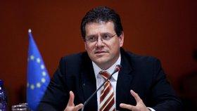 Maroš Šefčovič v současnosti vykonává funkci místopředsedy Evropské komise. Rád by se ale stal slovenským prezidentem.