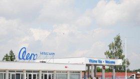 Letiště a továrna Aero Vodochody