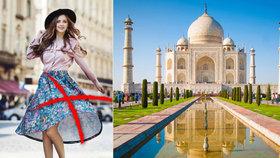 """Jedete na dovolenou do Indie? """"Rozhodně ne v sukni!"""" varují úřady."""