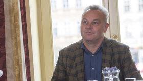 Pavel Talíř z KDU-ČSL při debatě Blesku z Jihočeského kraje