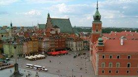 Historické centrum Varšavy je součástí kulturního dědictví UNESCO.