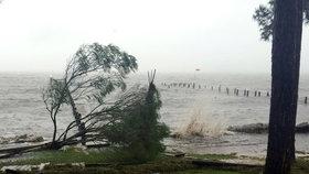 Kvůli hurikánu Hermine je 70 000 domů na Floridě bez elektřiny.