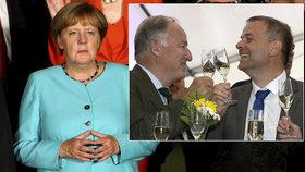 Angelu Merkelovou zarmoutil neúspěch její CDU v Meklenbursku-Předním Pomořansku, předskočili ji sociální demokraté i radující se AfD.