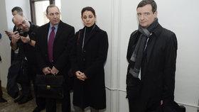Velká trojice obžalovaná z úplatkářství čeká na pravomocný rozsudek - Petr a Kateřina Kottovi a David Rath.