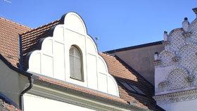 V penzionu Bílý jednorožec v Třeboni Kottovi bydleli.