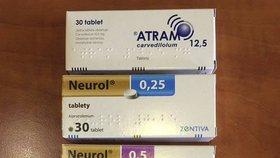 Prohlédněte si šarže těchto léků, došlo u nich k záměně.