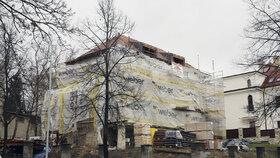 Vila Vratislava Mynáře v březnu 2016