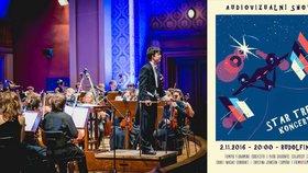 Star Trek slaví 50 let: V Praze hudbu z filmů a seriálů zahraje filharmonie.